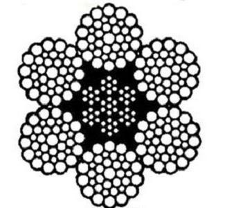 WireHyflex 6x36+IWRC, 1960 N/mm²